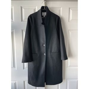 Old Navy Relaxed Fit Soft Brushed Longline Coat
